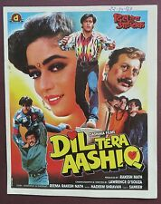 Press Book Indian Movie promotional Song booklet Pictorial Dil Tera Aashiq 1993