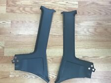 Volvo 240 Wagon 245 interior C-pillar cover set - faded blue.