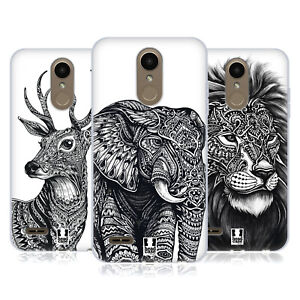 HEAD CASE DESIGNS ORNATE WILDLIFE SOFT GEL CASE & WALLPAPER FOR LG PHONES 1