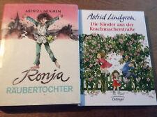 2x Astrid Lindgren [ Kinder aus der Krachmacherstraße + Ronja Räubertochter ]