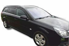 DOP25361 deflettori del vento Vauxhall Vectra C Estate 5 PORTA 2002-08 4pc HEKO colorata