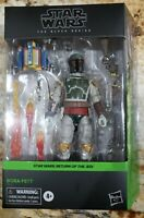 "Star Wars The Black Series Boba Fett Deluxe Return Of The Jedi Exclusive 6"" NEW"