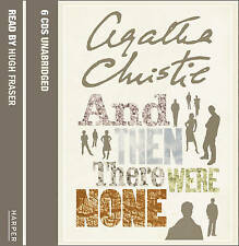 AGATHA CHRISTIE AND THEN THERE WERE NOW CD AUDIOBOOK NEW SEALED FREE UK POST