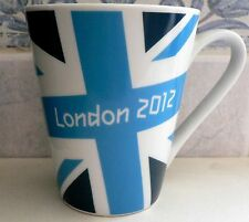 London 2012 Olympic Games Official Product Porcelain UNION JACK DARK BLUE MUG