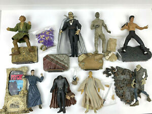 Vintage Huge LOT Universal Studios Monsters Action Figure Sideshow Toy + Others!
