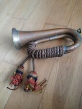 More details for military brass bugle