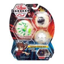Brand New Spin Master BAKUGAN DIAMOND: WEBAM & PHAEDRUS & CUBBO 3x Starter Pack