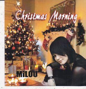 Milou-Christmas Morning Promo cd single