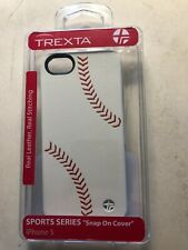 iPhone BASEBALL LEATHER Cover NEW! plus extra one REDUCED by $5 &screen savers