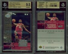 2004 National Trading Card Day #UD7 LEBRON JAMES BGS 9.5 (9.5, 9, 9.5, 9.5)