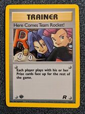 Here Comes Team Rocket! 1st Edition Holographic
