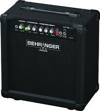 Behringer 1x8 Combo Guitar Amp Virtube VT15CD 15W Practice Amplifier NEW