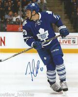 Toronto Maple Leafs Frank Corrado Signed Autographed 8x10 Photo COA