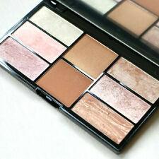 FREEDOM MAKEUP Pro Blush & Highlight Palette Bronze & Baked - 8x Bronzer Powder