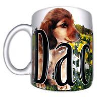 AMERICAWARE Dachshund EMBOSSED COFFEE MUG CUP 2007 LARGE JUMBO 18 OZ