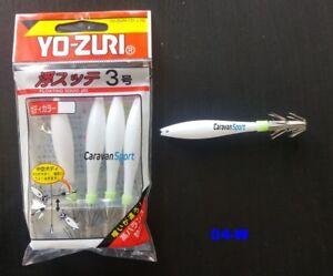 Oppai Tataki Yo-Zuri Floating Squid Jig 3.0 Squids 04-W White Fishing