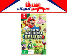 New Super Mario Bros. U Deluxe Nintendo Switch New In Stock
