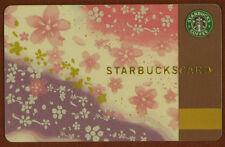 Japan 2010 Starbucks Sakura Cherry Blossom Gift Card~Very Rare