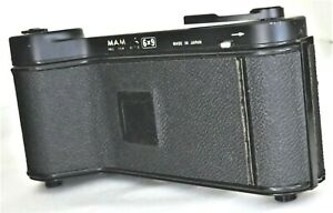 Black MAMIYA Roll Film Adapter 6x9 from Japan