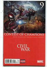 Civil War #9 NM Contest Of Champions Marvel Comics  MD10