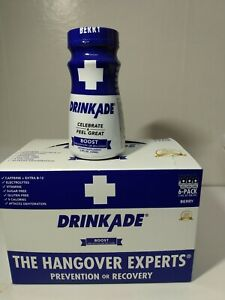DrinkAde 6 Pack celebrate and feel great boost prevention or recovery Berry
