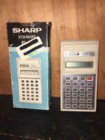 Sharp ELSI Mate EL-211 Vintage Calculator  Batteries Not Included.