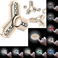 FIDGET SPINNER Alloy Hand Finger Focus EDC Steel Bearing Stress Relieve Toy Gift