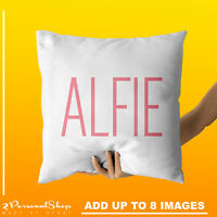 Personalised Name Cushion Cover Pillowcase Custom Gift Pillow Case