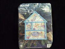 NIP BUCILLA Christmas Counted Cross Stitch Kit Nancy Rossi 83393 Heavenly Hymns