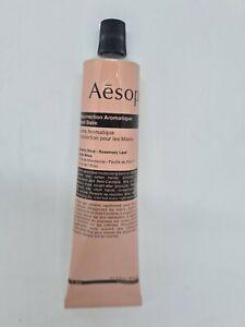 Aesop Resurrection Aromatique Hand Balm 75ml New