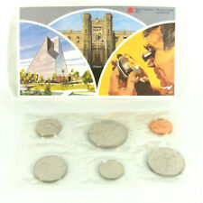 Canada 1982 Uncirculated Proof-like Coin set Royal Canadian Mint