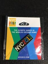 New York City 2012 Olympic Host City Bid Pin / London Games Promotion