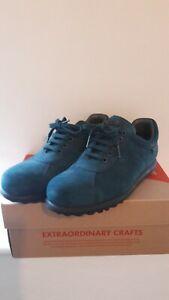 Camper Men's Shoes - Pelotas Ariel - Size EU 41 - Teal Blue with Black Sole