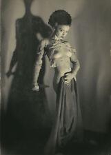Vintage Bride of Frankenstein Photo 83 Bizarre Odd Strange 5 x 7