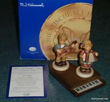 Limited Edition Musical Medley Goebel Hummel Collectors Set 2 Figurines W/ Piano