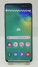 Samsung Galaxy S10 128GB (Prism Green) Unlocked / Unboxed *Small Chip on Screen*
