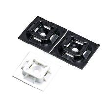 Panduit: ABM100-AT-C0, ABM100-AT-D0 Black Cable Tie Mount (100ea/bag)