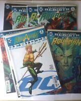 Aquaman DC Comics Rebirth 2016 Issues 1 - 4 6 7 10 11 Mera Rebirth 1