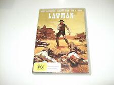 Lawman Law Man - DVD **Free Postage** Burt Lancaster Robert Ryan