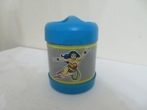 Pottery Barn Kids Mackenzie Hot & Cold Container Thermos WONDERWOMAN SUPER HERO