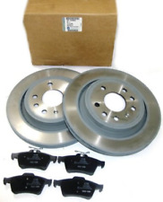 GENUINE VAUXHALL ASTRA G HATCHBACK / MERIVA / SOLID REAR BRAKE DISCS AND PADS