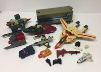 Hasbro Takara Vintage 80s G1 Transformers Bundle incl Skullcruncher, Jetfire