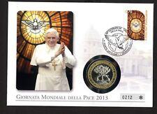 Vatikan 1741 Papst Benedikt XVI. Weltfriedenstag 2013