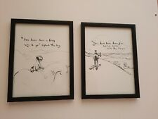 CHARLIE MACKESY FRAMED BOOK EXTRACT. ' THE BOY, THE MOLE, THE FOX AND THE HORSE.