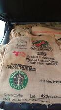 "Coffee Bean Burlap Sack 40""x 27"" Honduran Coffee Starbucks EMPTY SACK"