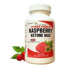 Raspberry Ketone Max + 1.500mg - HOCH DOSIERT - 90 Kapseln - Stoffwechselturbo