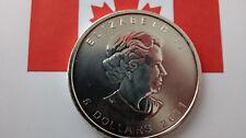 MONEDA DE PLATA PURA CANADA 5 DOLARES 1 ONZA  AÑO 2011 0.999/1000 SIN CIRCULAR