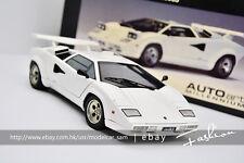 AUTOart 1:18  Lamborghini Countach 5000S 1982 (white ) LP500S