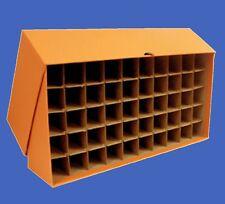 Heavy Duty Guardhouse Coin Tube Box - Quarter Dollar Orange 50 Tubes