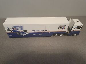 1/43 Williams Renault Formula 1 Truck